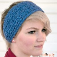 Warm Cabled Headband/Ear Warmer by Moogly