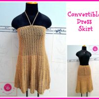 Convertible Dress / Skirt by Maz Kwok's Designs