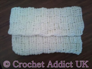 Basket Weave Handbag by Crochet Addict