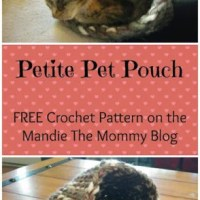 Petite Pet Pouch by Amanda Slate from Mandie The Mommy