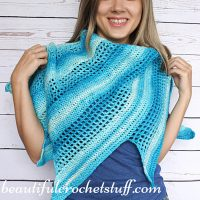 Crochet Baktus Scarf by Jane Green from Beautiful Crochet Stuff
