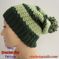 Easy Crochet Hat Pattern by CrochetNCrafts