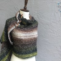Crochet California Wrap by Crystal | ChristaCoDesign