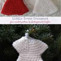 Little Dress Ornament by Marie Segares/Underground Crafter