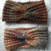 TC Twist Headband by Laura Wilson from Traverse Bay Crochet