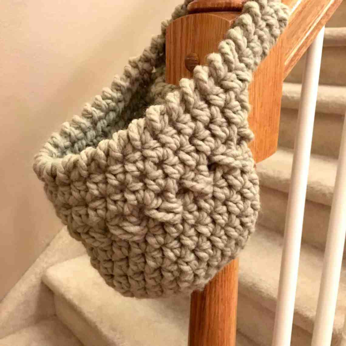 Free Crochet Pattern Hanging Basket