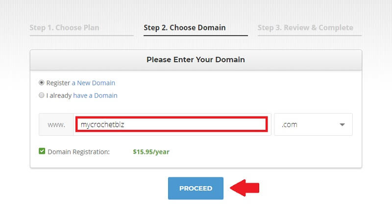 Select Your Domain Name When You Start A Crochet Blog
