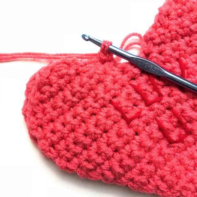 valentines crochet project