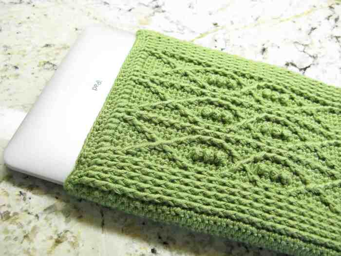 Crochet Ipad Cover Fish
