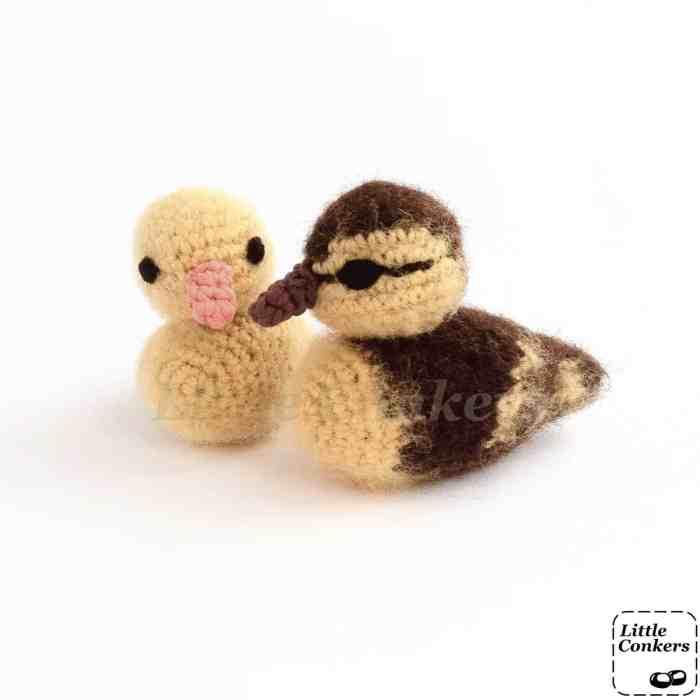 realistic duckling crochet pattern