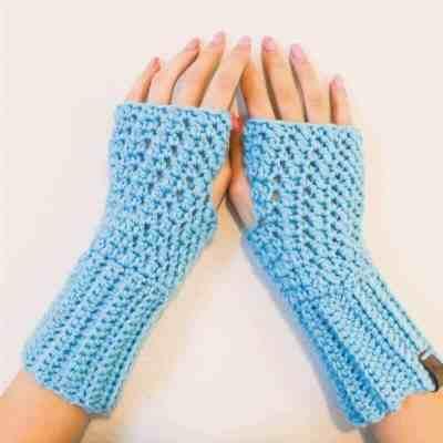 Polly Fingerless Gloves