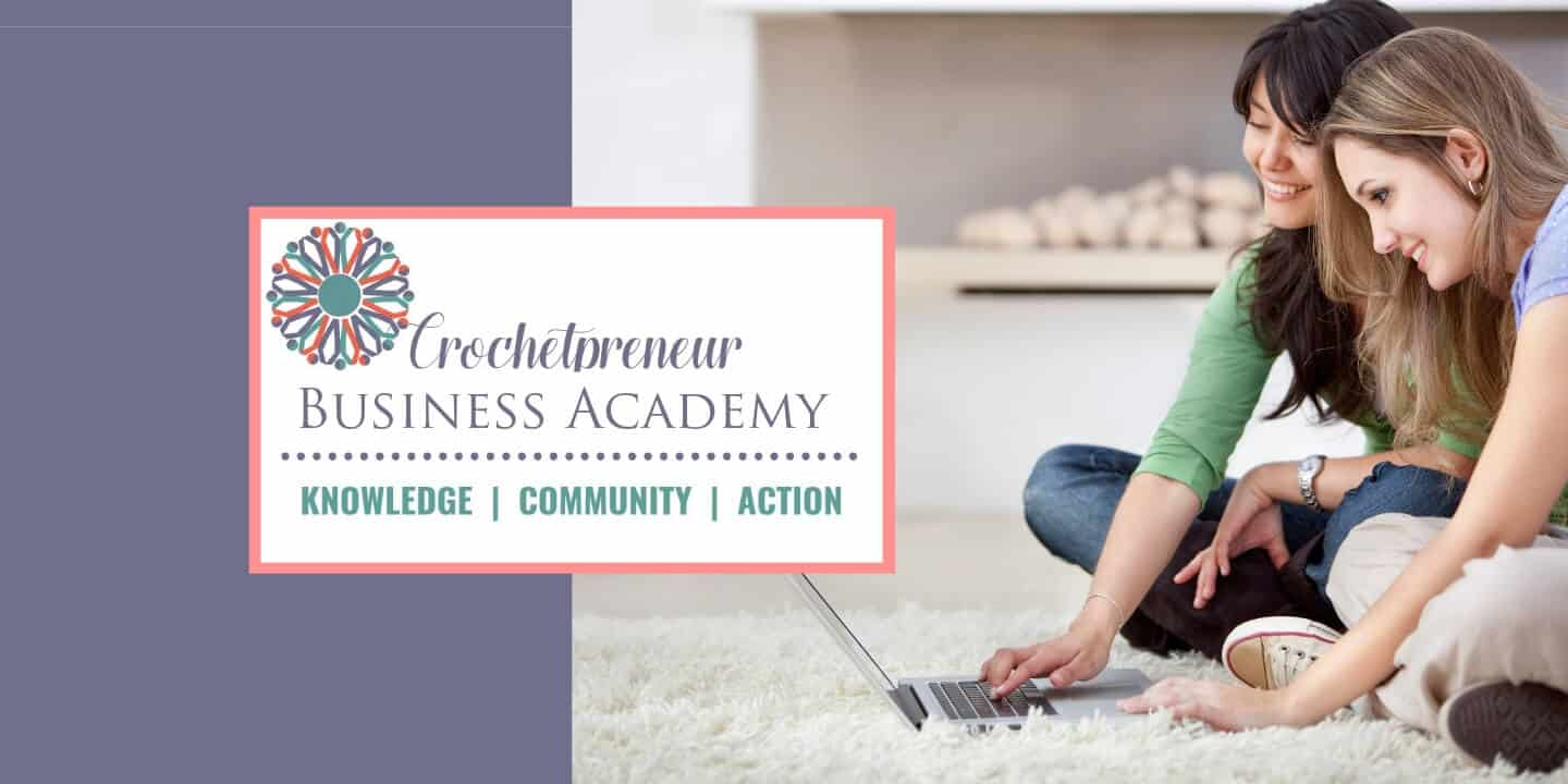 crochetpreneur business academy cover