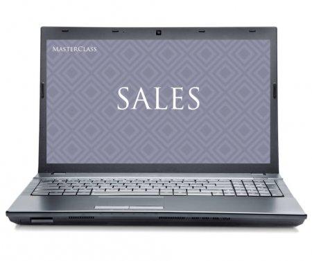 sales desktop mockup
