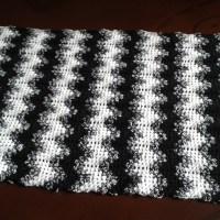 WIP:  Granny Ripple Stole/Shawl (Crochet)