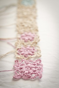 crochet chart for flower motif
