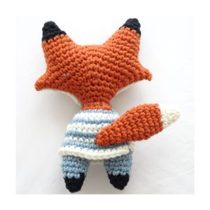 Cute amigurumi fox crochet