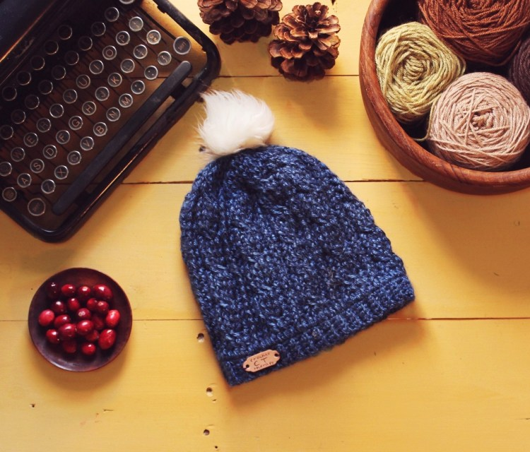 Simple Crochet Cable Beanie Free Cable Hat Pattern