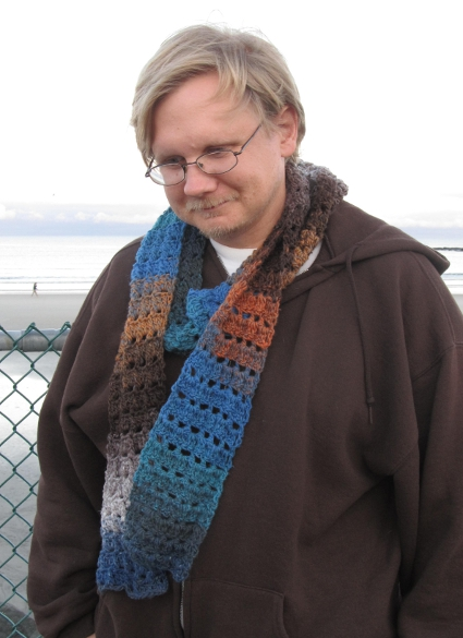 His Textured Scarf by Anastacia Zittel