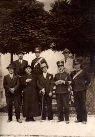 Arciprete Don Matteo Brunetti (*Alfedena, 3/5/1883 - †Castel del Giudice, 25/2/1938)
