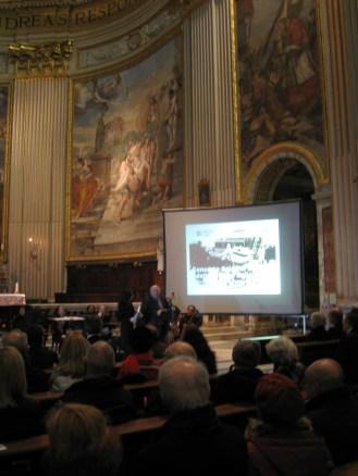 Lunedì 10 Febbraio 2014, solenne concerto in onore delle vittime delle foibe, presso la Basilica di S. Andrea della Valle in Roma.