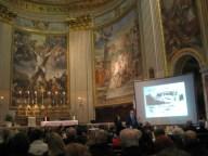Lunedì 10 Febbraio 2014, solenne concerto in onore delle vittime delle foibe, presso la Basilica di S. Andrea della Valle in Roma. Intervento del presidente della Regione Lazio, Nicola Zingaretti