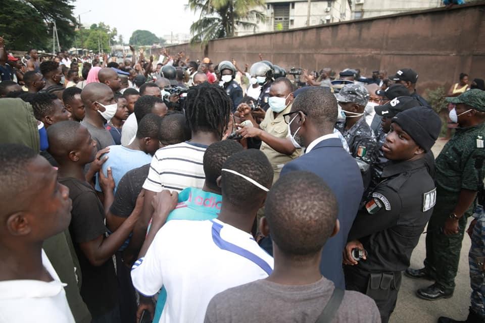 [Yopougon BAE] Le préfet d'Abidjan raconte les faits et appelle au calme (déclaration)