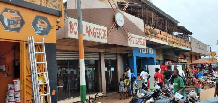 (Man Distribution de pains) Les livreurs en grève, refusent le nouveau prix des boulangeries