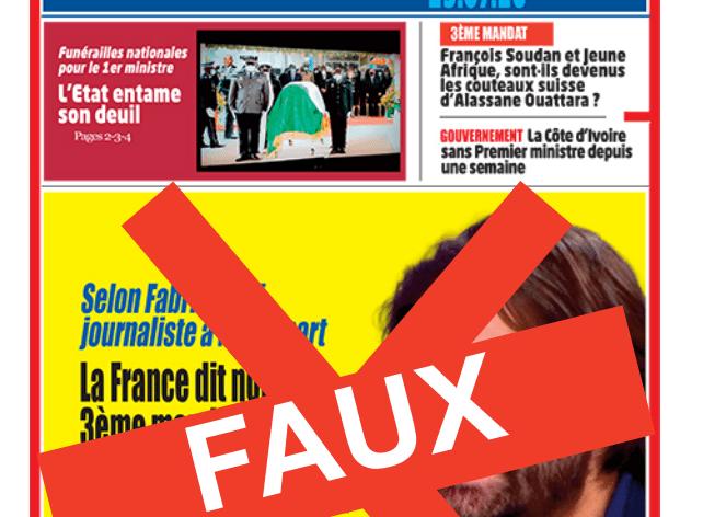 [Côte d'Ivoire/Presse] Le directeur de publication du quotidien Aujourd'hui blâmé par l'ANP