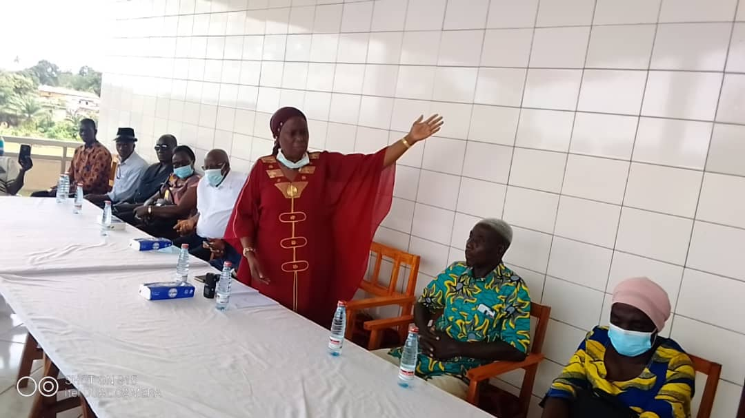[Côte d'Ivoire Présidentielle 2020]  Mahi Clarisse met ses troupes en ordre de bataille dans le Tonkpi Sud