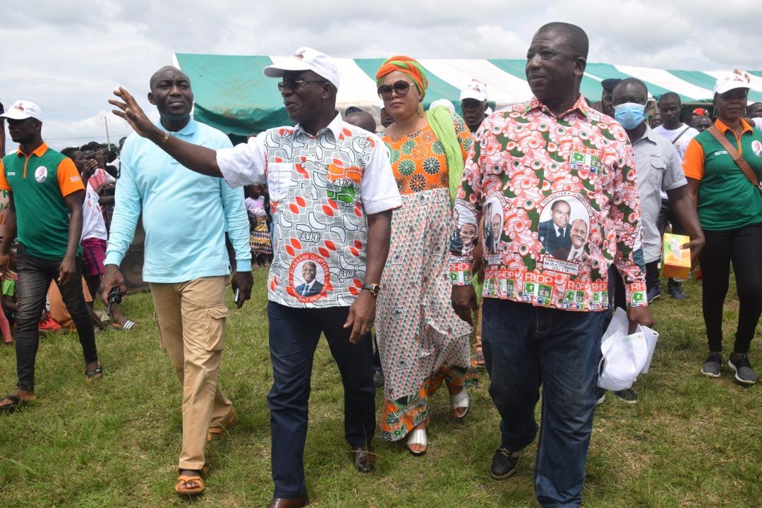 [Côte d'Ivoire Présidentielle 2020] Jacques Assahoré en campagne à Botro pour la victoire d'Ado au premier tour