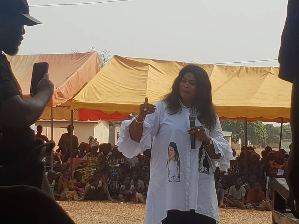 Giga meeting de la candidate du Rhdp à Ouéréguékaha, village du directeur de campagne adjoint, Ouattara Clément, 03-Mars-2021 (Images)