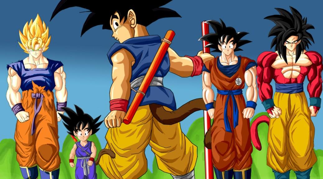 Goku Through the times