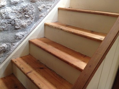 Finished stairs. Go on, Pinterest it, you know you want to.....