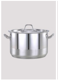 Pradeep Stainless Steel Induction Bottom Cook Pot