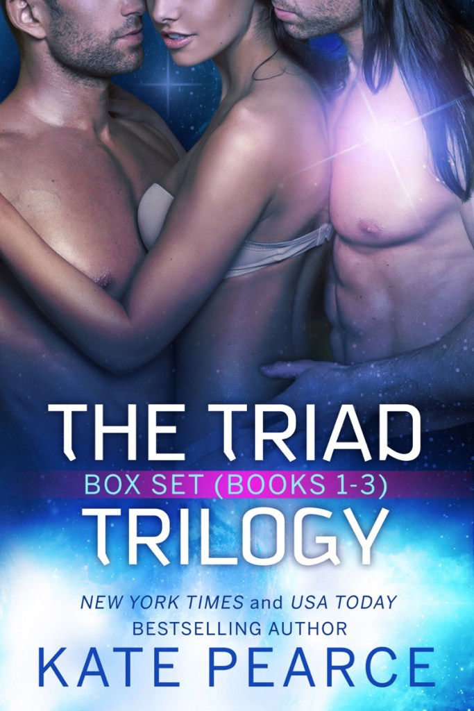The Triad Trilogy by Kate Pearce