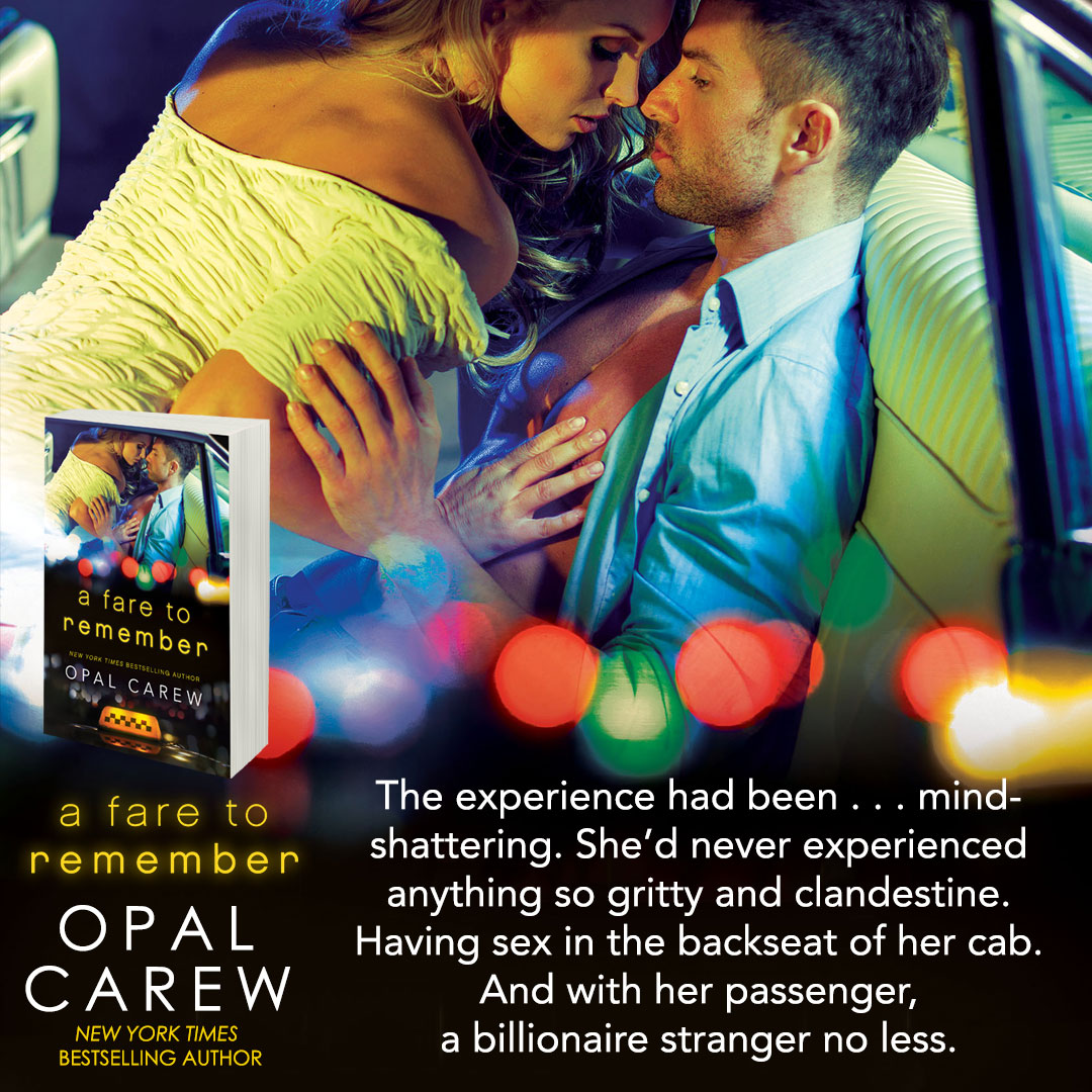 Teaser: A Fare To Remember by Opal Carew