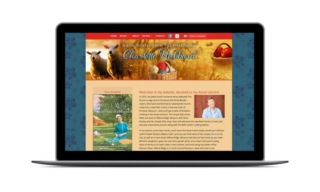Screenshot: Charlotte Hubbard Website