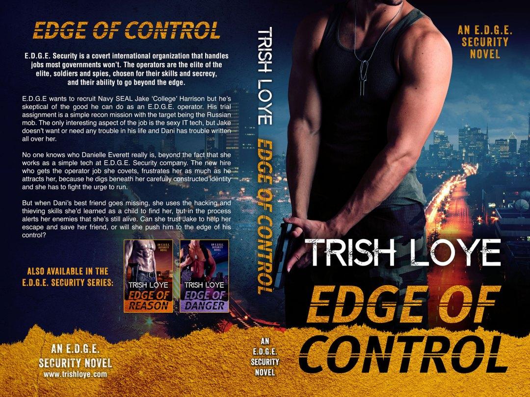 Edge of Control by Trish Loye (Print Coverflat)