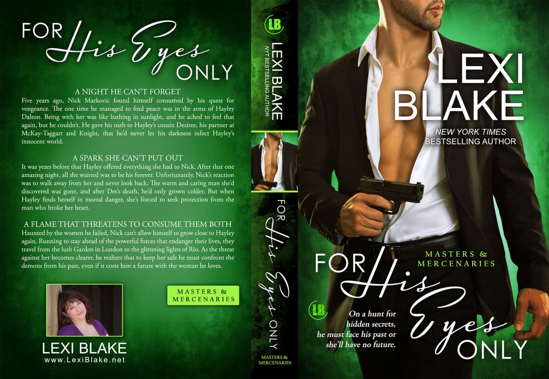 For His Eyes Only by Lexi Blake (Print Coverflat)