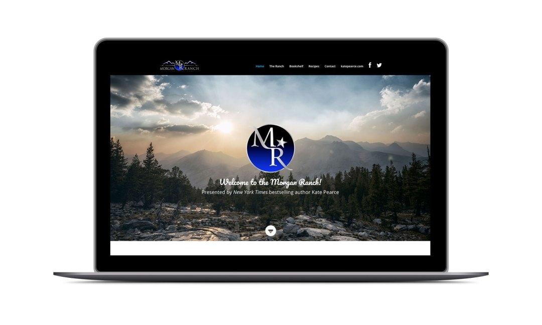 Screenshot: The Morgans' Ranch Website