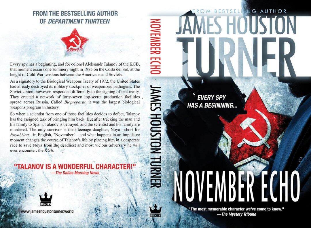 November Echo by James Houston Turner (Print Coverflat)