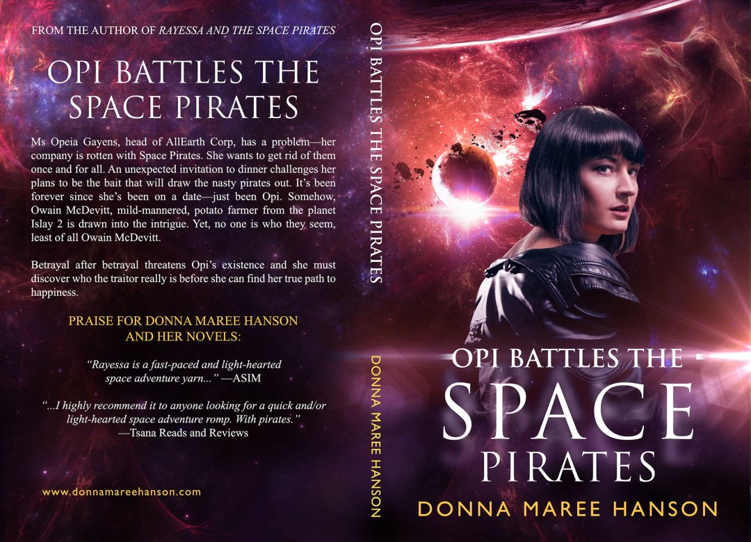 OPI Battles the Space Pirates by Donna Maree Hanson (Print Coverflat)