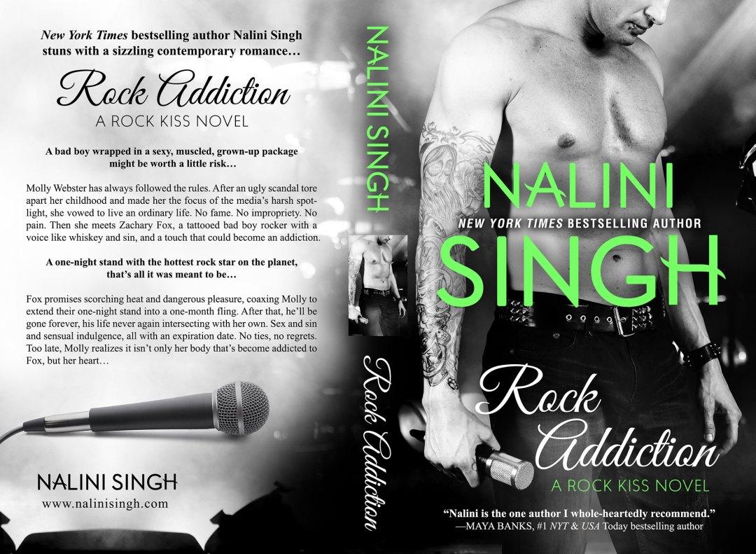 Rock Addiction by Nalini Singh (Print Coverflat)