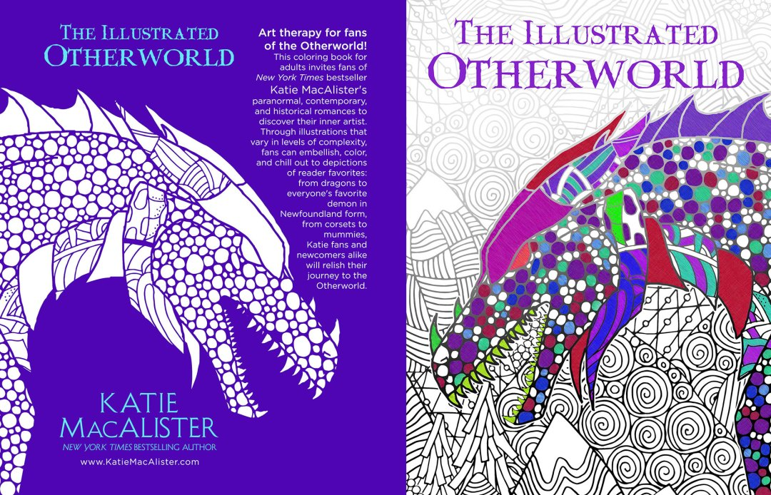 The Illustrated Otherworld by Katie MacAlister (Print Coverflat)
