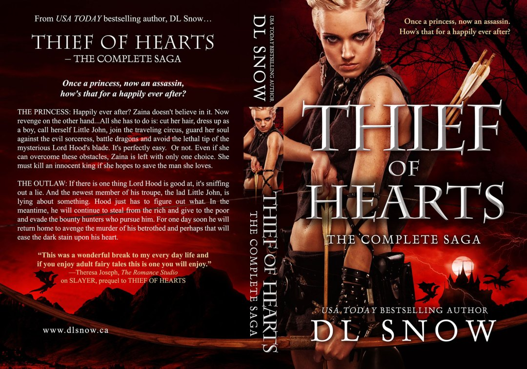 Thief of Hearts by DL Snow (Print Coverflat)