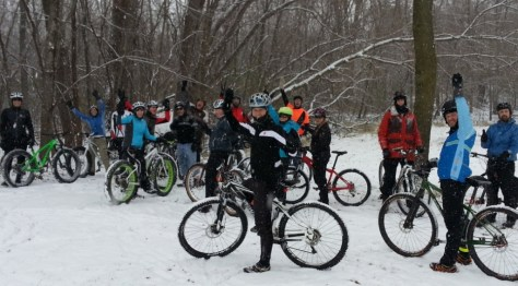 CROCT group ride, Sechler Park