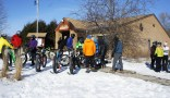 River Bend Nature Center's Fat Bike Event