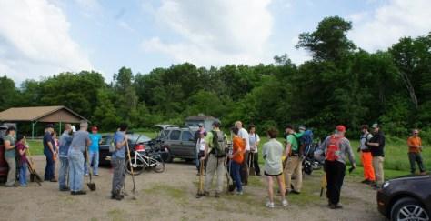 CROCT National Trails Day 2015 - Caron Park