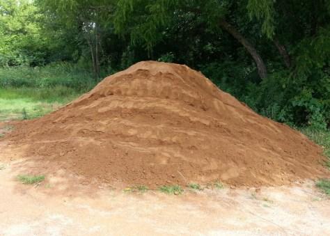 Sechler MTB skills park dirt pile