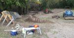 repairs to Sechler skills park